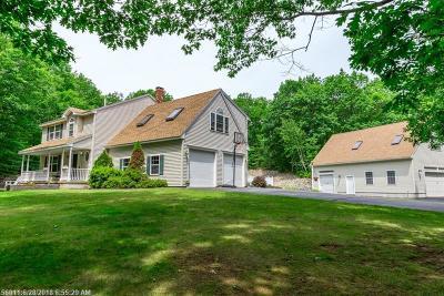 Waterboro Single Family Home For Sale: 39 Logan Cir