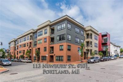 Portland Condo For Sale: 113 Newbury St 101 #101