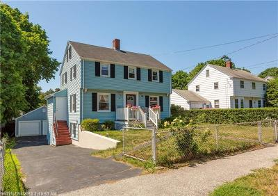 Portland Single Family Home For Sale: 45 Codman St