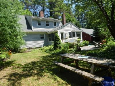 Standish Single Family Home For Sale: 660 Richville Road
