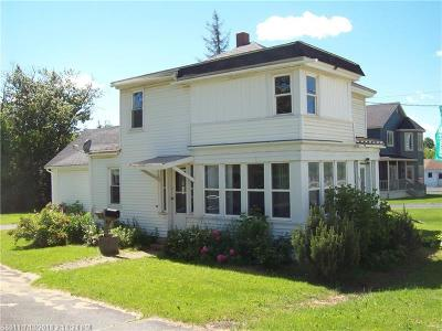 Fort Kent Single Family Home For Sale: 57 Market St