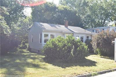 South Portland ME Single Family Home For Sale: $245,000