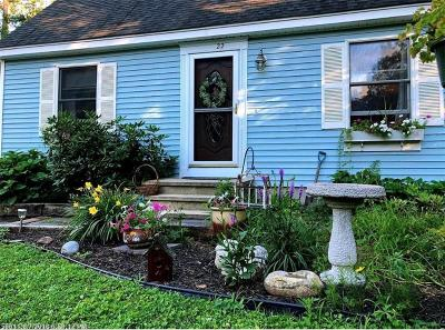 Waterboro Single Family Home For Sale: 22 Old Portland Rd