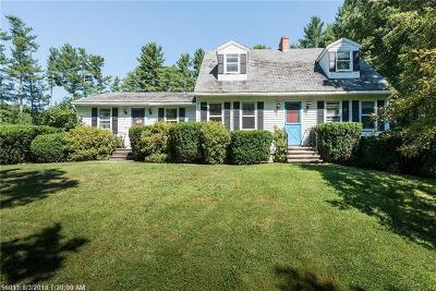 York Single Family Home For Sale: 252 Us Route 1