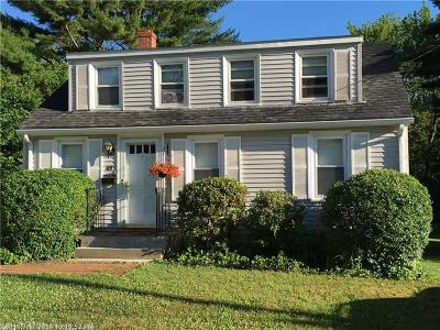 South Portland ME Single Family Home For Sale: $299,000