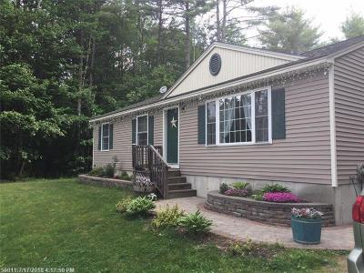 Waterboro Single Family Home For Sale: 36 Hemlock Ave