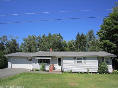 Presque Isle ME Single Family Home For Sale: $134,000