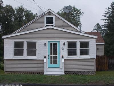 Caribou Single Family Home For Sale: 301 Sweden St