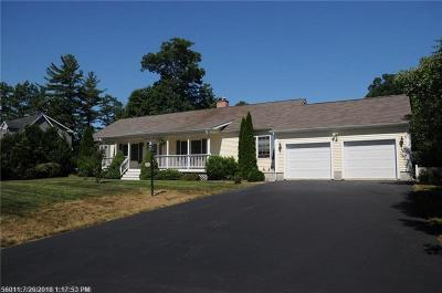 Wells Single Family Home For Sale: 24 Sagamore Dr