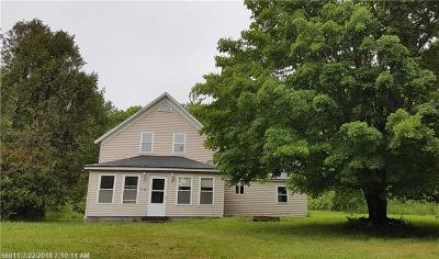 Single Family Home For Sale: 2488 Kennebec Road