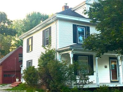 Hampden Single Family Home For Sale: 34 Main Rd S