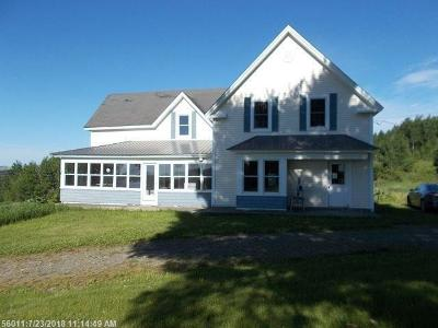 Presque Isle ME Single Family Home For Sale: $44,900