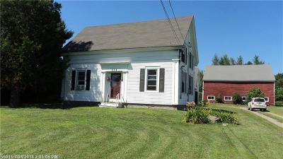 Hampden Single Family Home For Sale: 338 Western Ave