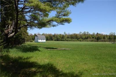 Cornville ME Single Family Home For Sale: $110,000