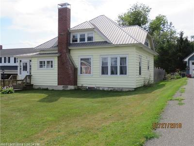 Caribou Single Family Home For Sale: 6 Page Ave