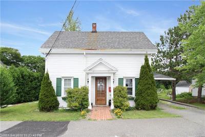Bangor Single Family Home For Sale: 33 Carroll St