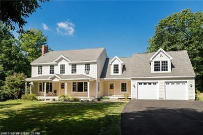 Falmouth Single Family Home For Sale: 6 Jackson Way