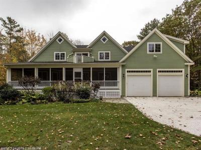 Kennebunkport Single Family Home For Sale: 11 Goose Fair