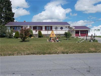 Presque Isle ME Single Family Home For Sale: $164,500