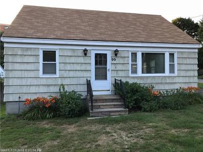 South Portland ME Single Family Home For Sale: $299,000