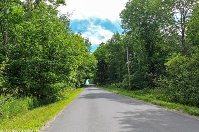 Hudson ME Residential Lots & Land For Sale: $24,000