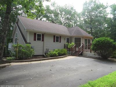 Waterboro Single Family Home For Sale: 13 Binette Ln
