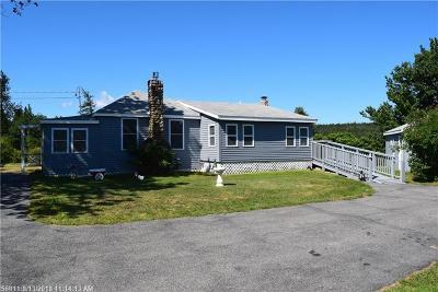 Gouldsboro Single Family Home For Sale: 289 Schoodic Drive