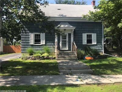 South Portland Single Family Home For Sale: 7 Allen Rd