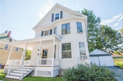 Bangor Single Family Home For Sale: 9 Jefferson St