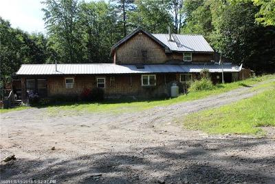 Single Family Home For Sale: 167 Pease Bridge Rd
