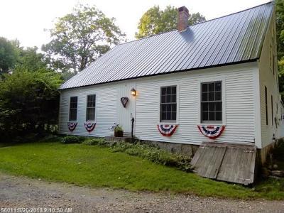 Limington Single Family Home For Sale: 6 Old Meserve Ln