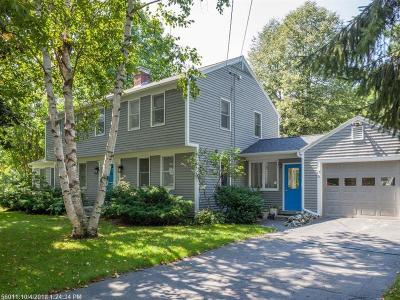 Kennebunkport Single Family Home For Sale: 9 Birch Ct