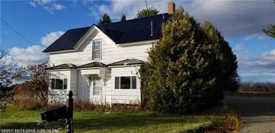 Caribou Single Family Home For Sale: 187 Bailey Rd