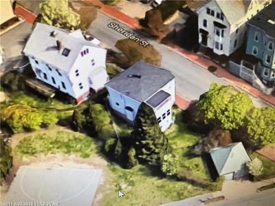 Portland Single Family Home For Sale: 10/14 Sheridan St
