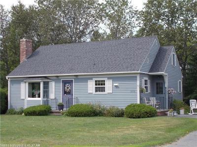 Washburn Single Family Home For Sale: 1356 Main St