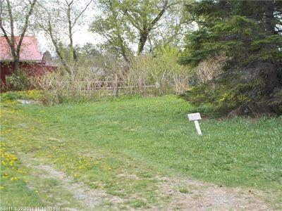 Presque Isle Residential Lots & Land For Sale: 3 Montgomery Street