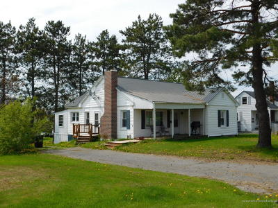 Presque Isle ME Single Family Home For Sale: $74,500