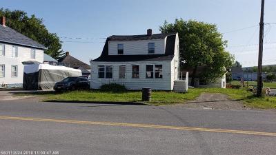 Presque Isle ME Single Family Home For Sale: $60,000