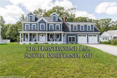 South Portland Single Family Home For Sale: 116 Hawthorne Ln