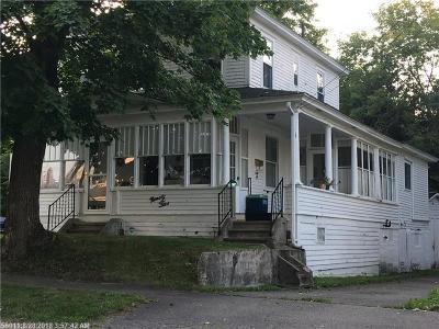 Millinocket Single Family Home For Sale: 95 Elm