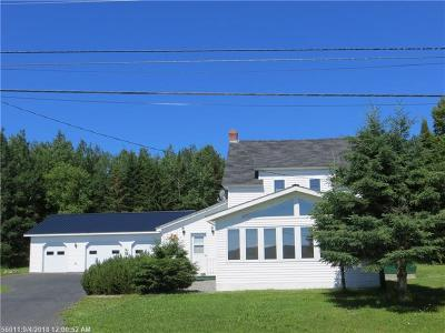 Wallagrass Single Family Home For Sale: 961 Aroostook Road