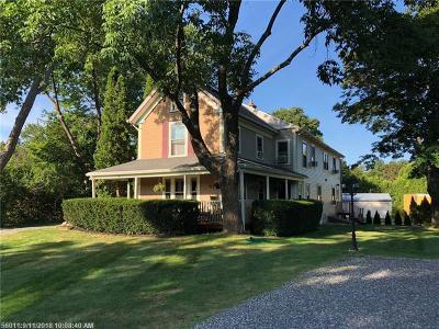 Ogunquit Single Family Home For Sale: 67 Main St