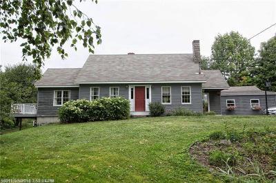 Single Family Home For Sale: 32 Kidder Hill Road