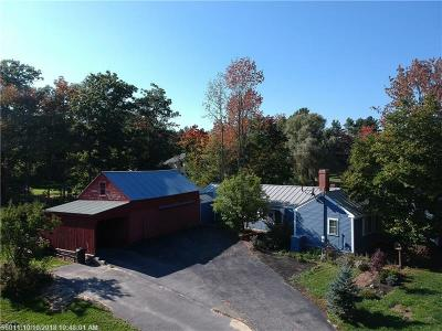 Falmouth Single Family Home For Sale: 68 Pleasant Hill Rd