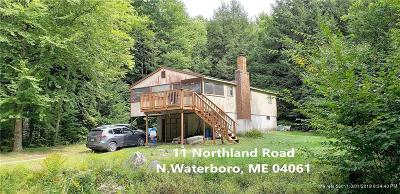 Waterboro Single Family Home For Sale: 11 Northland Road