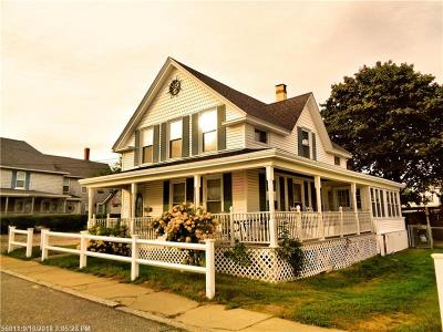 Old Orchard Beach ME Multi Family Home For Sale: $575,000
