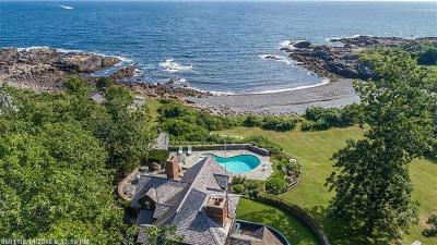 Ogunquit Single Family Home For Sale: 66 Pulpit Rock Rd