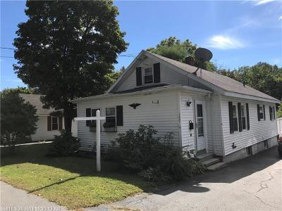 Westbrook Single Family Home For Sale: 157 Falmouth St