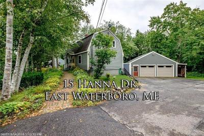Waterboro Single Family Home For Sale: 15 Hanna Dr