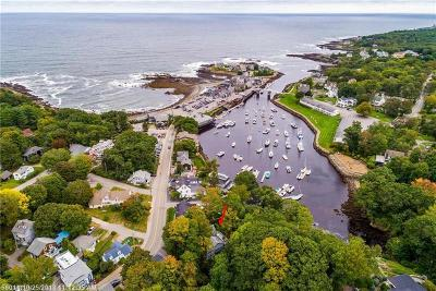 Ogunquit Single Family Home For Sale: 22 Perkins Cove Rd
